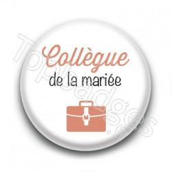 Badge : Picto, Collègue de la mariée