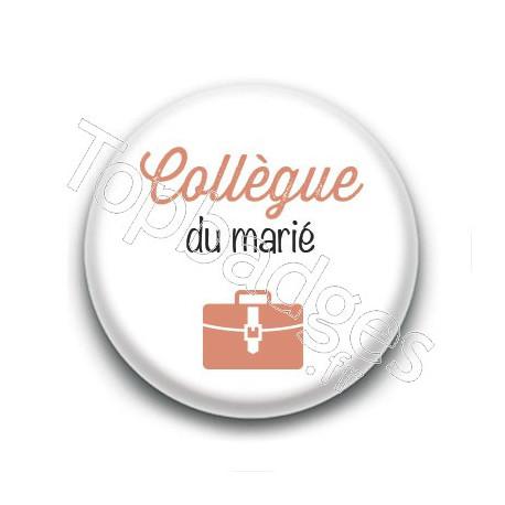 Badge : Picto, Collègue du marié