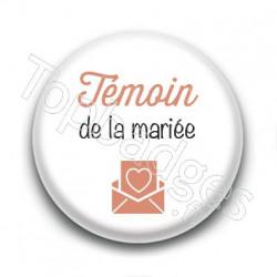 Badge : Picto, Témoin de la mariée