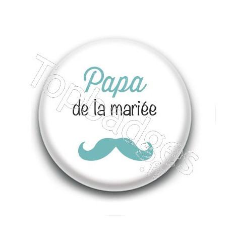Badge : Picto, Papa de la mariée