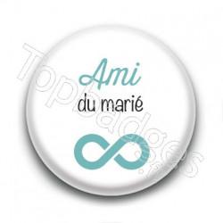 Badge : Picto, Ami du marié