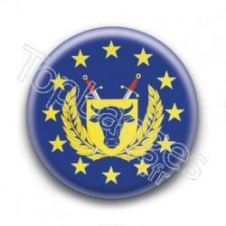 Badge : Drapeau des forces armées de l'Union Européenne