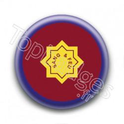 Badge : Drapeau de l'armée du salut