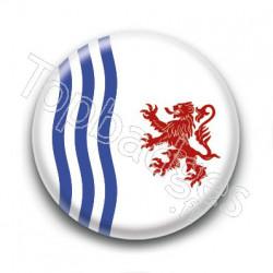 Badge : Drapeau de la nouvelle Aquitaine