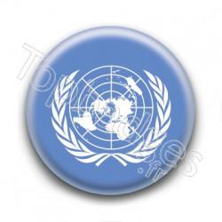 Badge : Drapeau de l'ONU