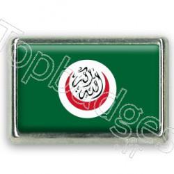 Pins chromé drapeau de l'organisation de la coopération islamique