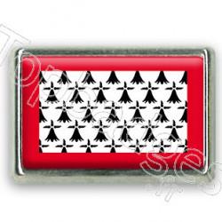 Pins chromé drapeau du Limousin