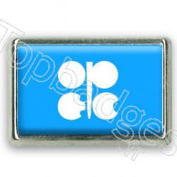 Pins chromé drapeau de l'OPEP