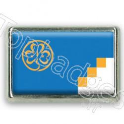 Pins chromé drapeau scout