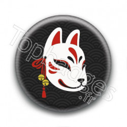Badge : Kitsune masque