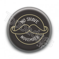 Badge : No shave November