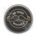Badge : No shave November