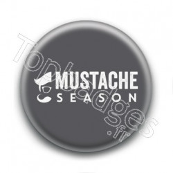 Badge : Mustache season