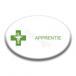 Badge ovale : Apprentie