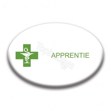 Badge ovale : Apprentie