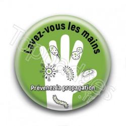 Badge Lavez vous les mains