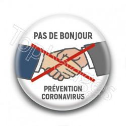 Badge pour vous protéger de la grippe