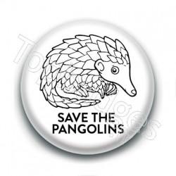 Badge : Save the pangolins
