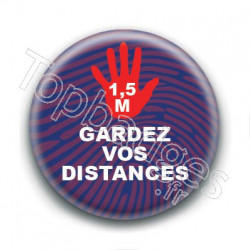 Badge : Gardez vos distances