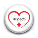 Badge : Merci, personnel hospitalier