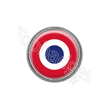 Pins rond : Cocarde française