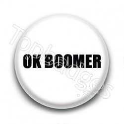 Badge : OK Boomer
