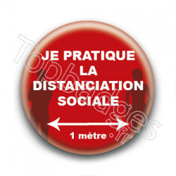 Badge : Distanciation sociale