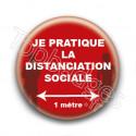 Badge : Distanciation sociale
