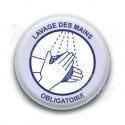 Badge : Lavage des mains obligatoire, gouvernement