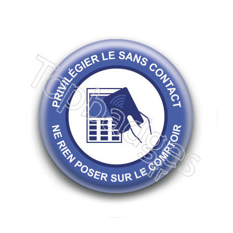 Badge : Privilégier le sans contact