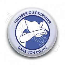 Badge : Tousser ou éternuer dans son coude, gouvernement