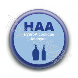 Badge : HAA HydroAlcoolique Anonyme