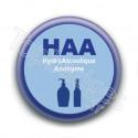 Badge : HAA HydroAlcoolique Anonyme
