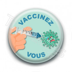Badge : Vaccinez-vous
