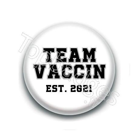 Badge : Team vaccin, ets. 2021