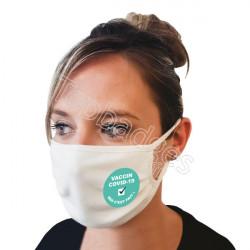 Masque 120 lavages : Vaccin covid-19, moi c'est fait !