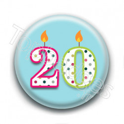 Badge : 20 ans !