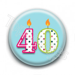 Badge : 40 ans !