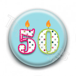 Badge : 50 ans !