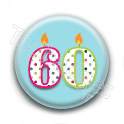Badge : 60 ans !