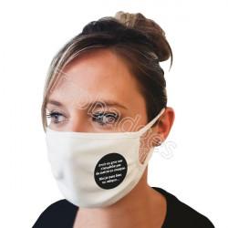 Masque : Avoir un gros nez n'empêche pas de mettre un masque...
