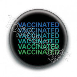 Badge : Vaccinated