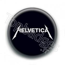 Badge : Helvetica