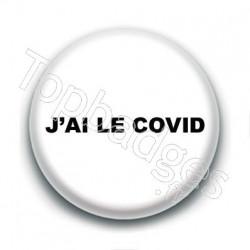 Badge : J'ai le covid