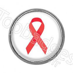 Pins rond : Lutte contre le sida