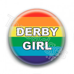 Badge : Derby girl LGBTQIA+