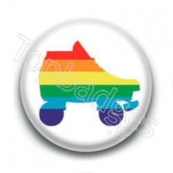 Badge : Roller derby LGBTQIA+
