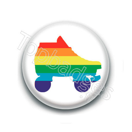 Badge : Roller derby LGBTQ+