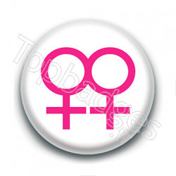Badge : Symboles femmes