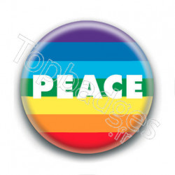 Badge : Peace LGBTQ+